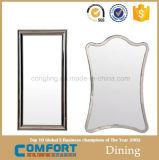 長方形の競争の高品質ライト銀の装飾的な浴室ミラー