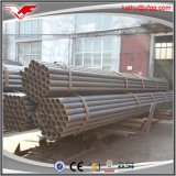 ERW Soudé Carbon Black Structure Transport Steel Pipe