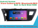 Androides Systems-Auto GPS DVD für Toyota Corolla 10.1 Zoll-Touch Screen mit Bluetooth/TV/MP4