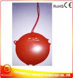 calentador del caucho de silicón del diámetro 124*1.5m m de 24V 37.5W para la máquina del café