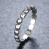 Anello originale dei monili dell'argento sterlina di disegno 925 del gatto sveglio bello