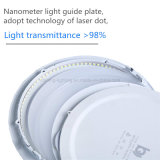 Luces ultrafinas redondas de Plafond del proyector de la lámpara del techo de la iluminación del panel del LED 3W AC85-265V Downlight LED
