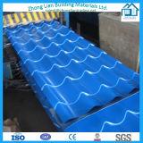 La toiture ondulée enduite d'une première couche de peinture par Galvalume/galvanisée couvre (ZL-RS)