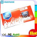 Supporto di derivazione del PVC VIP MIFARE Membership Gift Card di Printing RFID