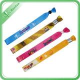 Wristband di scintillio tessuto fabbricato promozionale del partito