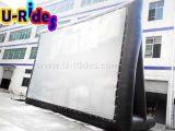 Pantalla de película inflable de la proyección trasera para al aire libre