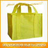 Bolso de compras no tejido para la impresión de la pantalla de seda del regalo (BLF-NW016)