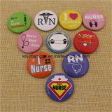 Grossiste Cheap Custom Metal Nurse Badge Button Pins