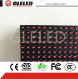 LED 스크린 전시 옥외 단 하나 색깔을 광고하는 최신 판매 고품질 방수 높은 광도 P10