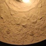 Modernes einfaches Hotel-dekoratives schwarzes Harz-runde hängende Lampe