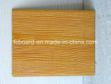 Le panneau en bois de la colle avec l'amiante libèrent