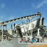 採鉱設備のための熱い携帯用押しつぶすプラント