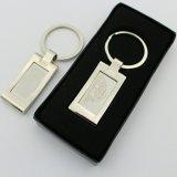 Aangepast Metaal Keychain met Vorm van het Embleem van de Koepel de Bestaande of van het Embleem van de Laser