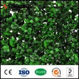 Recinzione artificiale di plastica facilmente montata dei fogli di verde di alta qualità