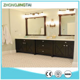 백색 Cultured Marble Vanity Tops 또는 Man Made Quartz Stone Vanity Top