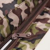 防水オックスフォードのジッパーの記憶の緑のショッピング・バッグ(15A008)