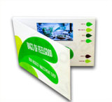 Publicidad de la tarjeta video de encargo