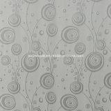 Popular en color gris poliéster encogimiento del hilo teñido cortina de la ventana
