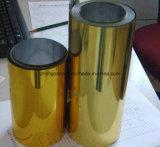 Pellicola dorata/metallizzata del PVC imballaggio sotto vuoto/della bolla