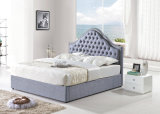 Meubles modernes de chambre à coucher en bois solide