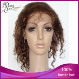 6A Mongolian Virgin Curly Lace Front Wig 8-24inch Hair Wigs