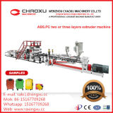 ABS Machine van de Productie van de Extruder van het Blad van de Plaat van de Schroef van PC de Tweeling Plastic