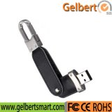 Best Price 8GB Leather Swivel USB Flash drive for computers