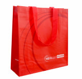 Рекламирующ Non сплетенную хозяйственную сумку Tote (LJ-136)