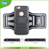 iPhone 6、Slide Holster Defender Case、Sweat Proof Case、影響抵抗力があるCaseのRunning Beltのための腕章Holster Case