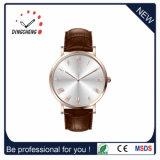 Echte lederne Brücke Dw stilvolle Uhr-Quarz-Uhr für Männer und Frauen (DC-1407)