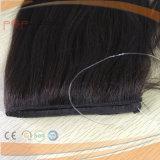 Riga nera naturale estensione dell'anello del ciclo di colore dei capelli umani dei capelli di guidacarta