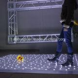 LED 반짝임 춤 단계 위원회 빛