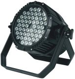 Diodo emissor de luz PAR Can Wash Light do diodo emissor de luz Outdoor Waterproof 54X3w RGBW