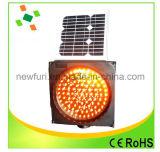 Lumière solaire de sécurité routière du voyant d'alarme de circulation de signal d'échantillonnage DEL