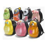 PVC Materila 13 Inch Cute Eggshell Schllo Bag di En71 Approval per Children con Light (10213329)
