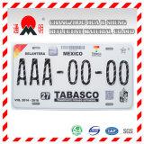 Nummerplaat met het Weerspiegelende Afdekken (TM8200)