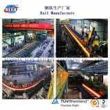 longerons en acier de 30kg/M pour la construction ferroviaire