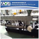 Extrusora de parafuso dobro plástica/maquinaria gêmea da extrusão do parafuso