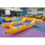 Les poissons remorquables de vol gonflable de PVC/banane gonflable Flyfish