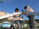 Transparentes Pagode-Zelt des Fabrik-Preis-5X5m für Hochzeitsfest