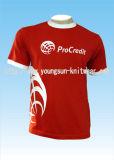 T-shirt fait sur commande d'impression de coton avec vos propres conception