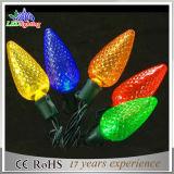 Luz al aire libre de la cadena de la decoración de la Navidad del LED