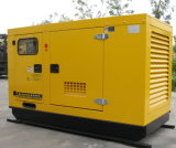 gerador Diesel silencioso de 40kw/50kVA Cummins para sistemas solares com ATS