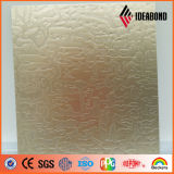Paneling de alumínio metálico gravado da série do toque do produto novo de Ideabond
