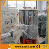 Machine en plastique de mélangeur à grande vitesse de poudre de résine de PVC pour des lignes de production de granules de feuille de profil de pipe de PVC