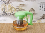 1500ml Glass Teapot Coffee Pot Water Kettle con Infuser