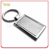 Förderung-Geschenk-Zoll gedruckter Firmenzeichen-Leder-Schlüssel Fob
