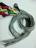 Cable de Nihon Kohden 25pin 10 DIN3.0/Banana4.0 ECG