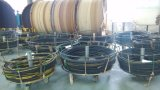 Le fil d'acier a tressé le boyau en caoutchouc hydraulique couvert par caoutchouc renforcé (SAE100 R1-06at)