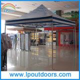 10X10' de zware Tent die van het Embleem van de Douane van het Staal Pop omhooggaande Luifel voor Bevorderingen vouwen